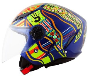 CAPACETE AGV ABERTO BLADE FIVE CONTINENTS