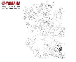 UNIDADE SENSOR DE COMBUSTÍVEL CONJUNTO PARA YZF R3 e MT-03 ORIGINAL YAMAHA