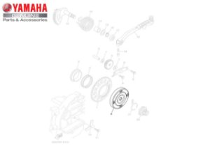 EMBREAGEM DE PARTIDA AT115 NEO ORIGINAL YAMAHA