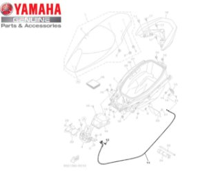 CABO DA TRAVA DO SELIM PARA NMAX 160 ORIGINAL YAMAHA