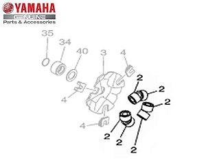CONTRAPESO ( ROLETES ) DA EMBREAGEM PARA NEO 125 ORIGINAL YAMAHA