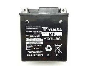 BATERIA YUASA YTX7L-BS 12V 6AH FAZER 250 TENERE 250 LANDER 250 - PRODUTO 100% ORIGINAL