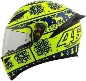 CAPACETE AGV K-1 WINTER TEST
