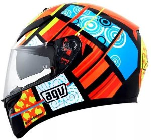 CAPACETE AGV K-3 SV ELEMENTS COM VISEIRA INTERNA