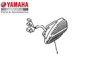 REGULADOR E RETIFICADOR PARA XV535 VIRAGO ORIGINAL YAMAHA