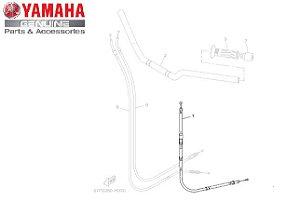 CABO DE EMBREAGEM PARA FZ6 N - FAZER 600 ORIGINAL YAMAHA