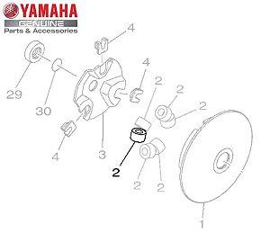 CONTRAPESO ( ROLETE ) UNIDADE PARA NMAX 160 ORIGINAL YAMAHA