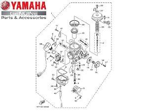 CARBURADOR COMPLETO PARA NEO 115 2008 ORIGINAL YAMAHA