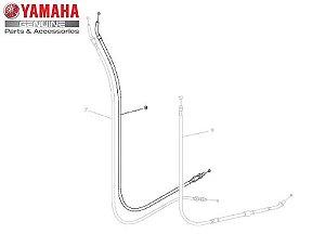 CABO DO ACELERADOR 2 PARA XJ6-F ORIGINAL YAMAHA