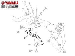 ALAVANCA ESQUERDA OU MANETE DE EMBREAGEM PARA XJ6 F, R1, FZ6 N 600, FZ6 S, MT 07, MT-09 E MT-09 TRACER ORIGINAL YAMAHA