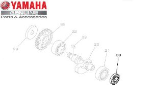 RETENTOR DE OLEO DO BALANCEIRO TTR230 ORIGINAL YAMAHA