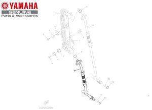 MANGUEIRA DE OLEO INFERIOR PARA TENERE 250 E LANDER ORIGINAL YAMAHA