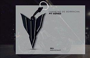CHAVEIRO DE BORRACHA YAMAHA - MT SÉRIES - NOVA COLEÇÃO