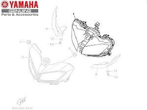 BLOCO DO FAROL DIANTEIRO CONJUNTO PARA MT-09 2020 ORIGINAL YAMAHA