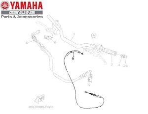 CABO DE EMBREAGEM PARA MT-09 TRACER E MT-09 TRACER 900GT ORIGINAL YAMAHA