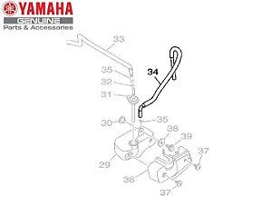 TUBO 2 DO TANQUE DE RECUPERACAO PARA MT-03 R YZF-R3 ORIGINAL YAMAHA