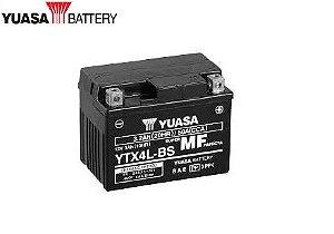 BATERIA YUASA YTX4L-BS PARA NEO125 UBS - ORIGINAL