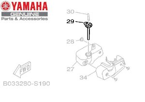 TAMPA DO TANQUE DE RECUPERACAO DA YZF-R3 E MT-03 ORIGINAL YAMAHA