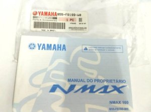 MANUAL DO PROPRIETARIO PARA NMAX 160 ORIGINAL YAMAHA