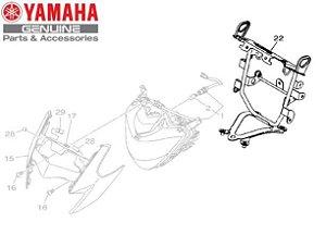 SUPORTE DO FAROL DIANTEIRO DA XTZ250 NOVA LANDER ABS 2020 ORIGINAL YAMAHA