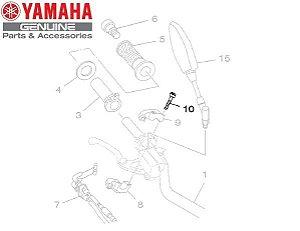PARAFUSO DA CAPA DO ACELERADOR MT-09 E MT-09 TRACER ORIGINAL YAMAHA