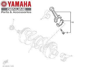 BIELA DO MOTOR PARA YZF-R1 2004 A 2014 ORIGINAL YAMAHA