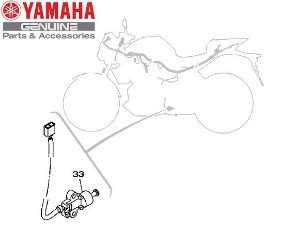 SENSOR DO CAVALETE LATERAL PARA MT-03 E YZF-R3 ORIGINAL YAMAHA