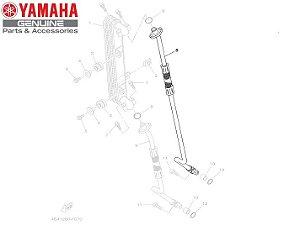 MANGUEIRA DE OLEO SUPERIOR PARA TENERE 250 E LANDER E NOVA LANDER ABS 2020 ORIGINAL YAMAHA