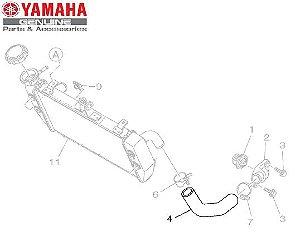 MANGUEIRA ESQUERDA DO RADIADOR PARA MT-03 E YZF-R3 ORIGINAL YAMAHA