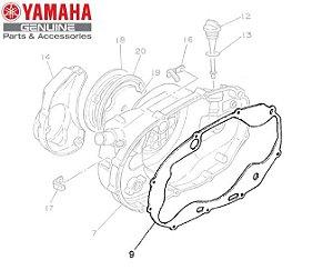 GAXETA OU JUNTA DA TAMPA DIREITA DO MOTOR PARA RD350 ORGINAL YAMAHA