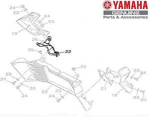 SUPORTE DIREITO DO RADIADOR PARA MT-03 ORIGINAL YAMAHA