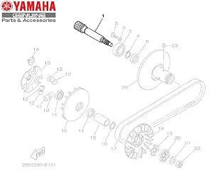 ENGRENAGEM PRIMARIA MOTORA PARA AT115 NEO ORIGINAL YAMAHA