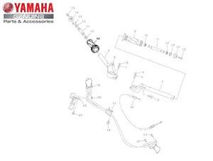 MANOPLA DIREITA PARA MT-03 E YZF-R3 ORIGINAL YAMAHA