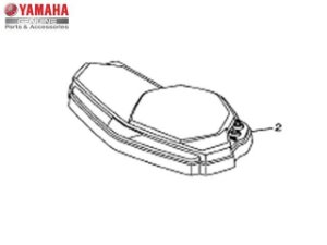 Caixa Superior do Velocimetro Yamaha YZF R3 Original