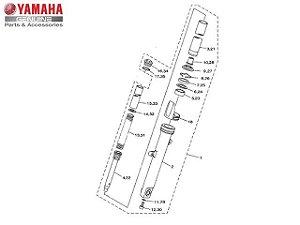 Garfo Dianteiro Esquerdo Completo Yamaha YZF R3 E MT-03 Original