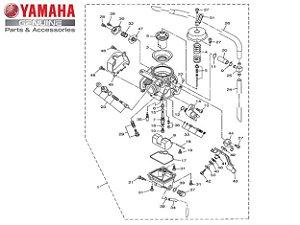 CARBURADOR COMPLETO PARA XTZ125 2009 A 2016 ORIGINAL YAMAHA