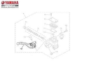Alavanca Direita TTR 230 Original Yamaha