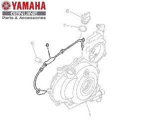 GAXETA OU JUNTA DA TAMPA ESQUERDA DO MOTOR PARA WR450F 2008 A 2011 ORIGINAL YAMAHA