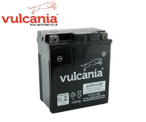 BATERIA VULCANIA YTX7L-BS 6AH PARA FAZER 250 TENERE 250 LANDER 250 - PRODUTO 100% ORIGINAL