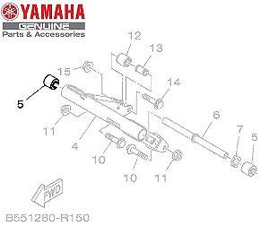 BUCHA AMORTIZADORA DO SUPORTE DO MOTOR PARA NMAX160 ORIGINAL YAMAHA