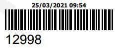 COMPRA DO ORCAMENTO 12998 - PECAS ORIGINAIS YAMAHA