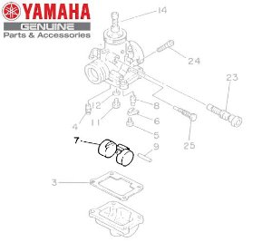 BOIA DO CARBURADOR PARA RD350 ORIGINAL YAMAHA