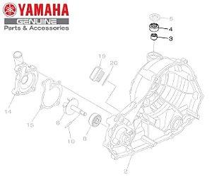 ROLAMENTO DA HASTE DE EMBREAGEM PARA MT-03 E YZF-R3 ORIGINAL YAMAHA