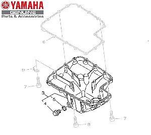TAMPA DO CARTER PARA MT-09 E MT-09 TRACER ORIGINAL YAMAHA