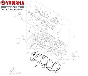 JUNTA DE CABECOTE PARA YZF-R12007 E 2008 ORIGINAL YAMAHA