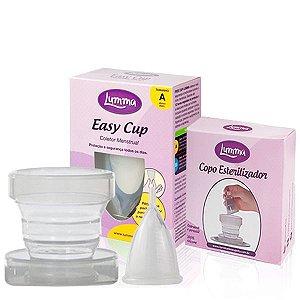 Kit 1 Copo Esterilizador + 1 Coletor Menstrual A