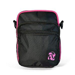 Shoulder Bag // Street Bag // Preta Pink