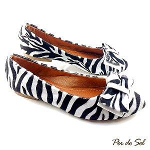Sapatilha Desenho de Zebra - C31-1596