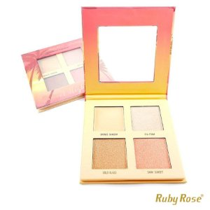 Iluminador Ruby Rose Sunset Highlighter - P0168