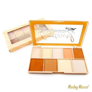Paleta de Contorno Sculpt Palette Ruby Rose - Light - P0174